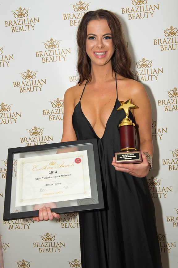 Alyssa Steele from our Teneriffe salon won Most Valuable Team Member