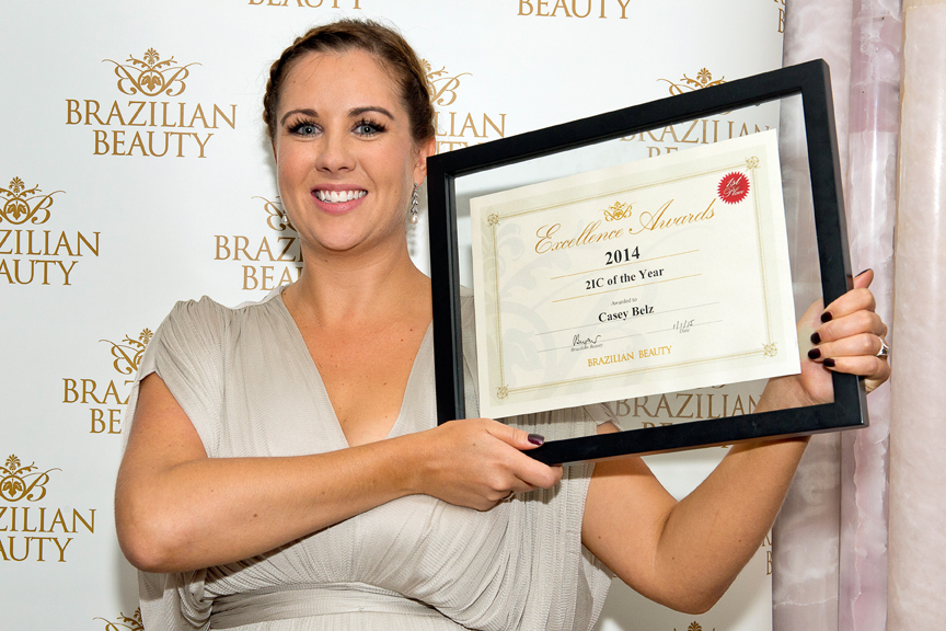 Casey Belz from our Bendigo salon won 2IC of the year