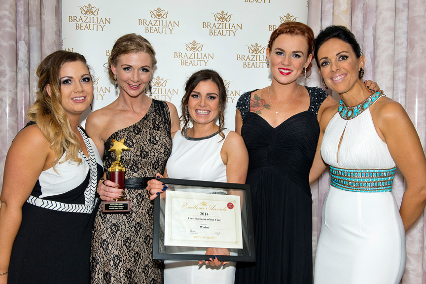 The team from our Woden salon won Evolving Salon of the Year