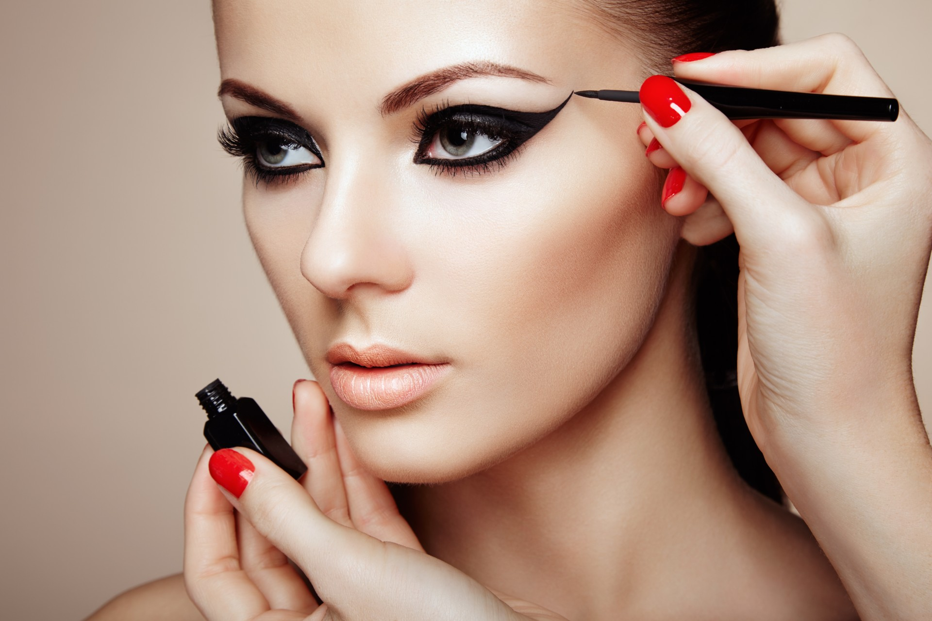 Look fierce all night. With one simple makeup hack! Source: Shutterstock
