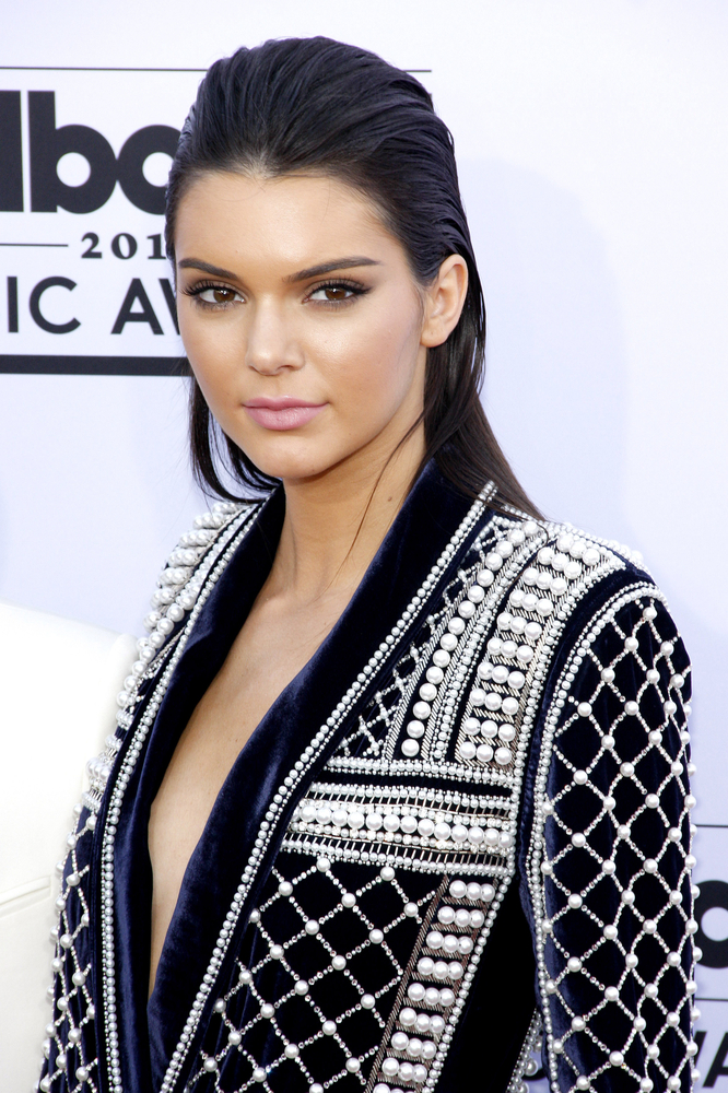 Newest Victoria's Secret Angel Kendall knows a thing or two about heavenly brows. Pic: Shutterstock
